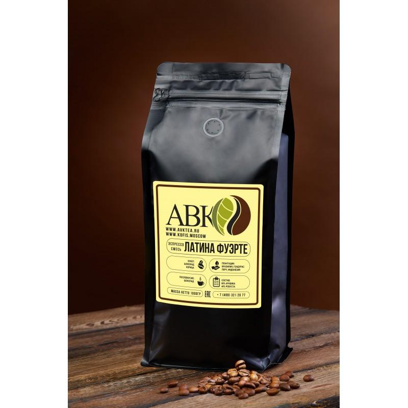 Зерновой кофе Латина Фуэрте