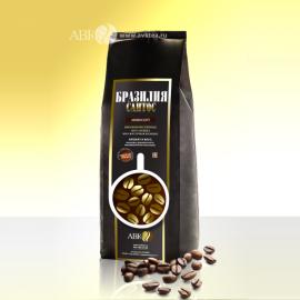 Зерновой кофе Бразилия Сантос